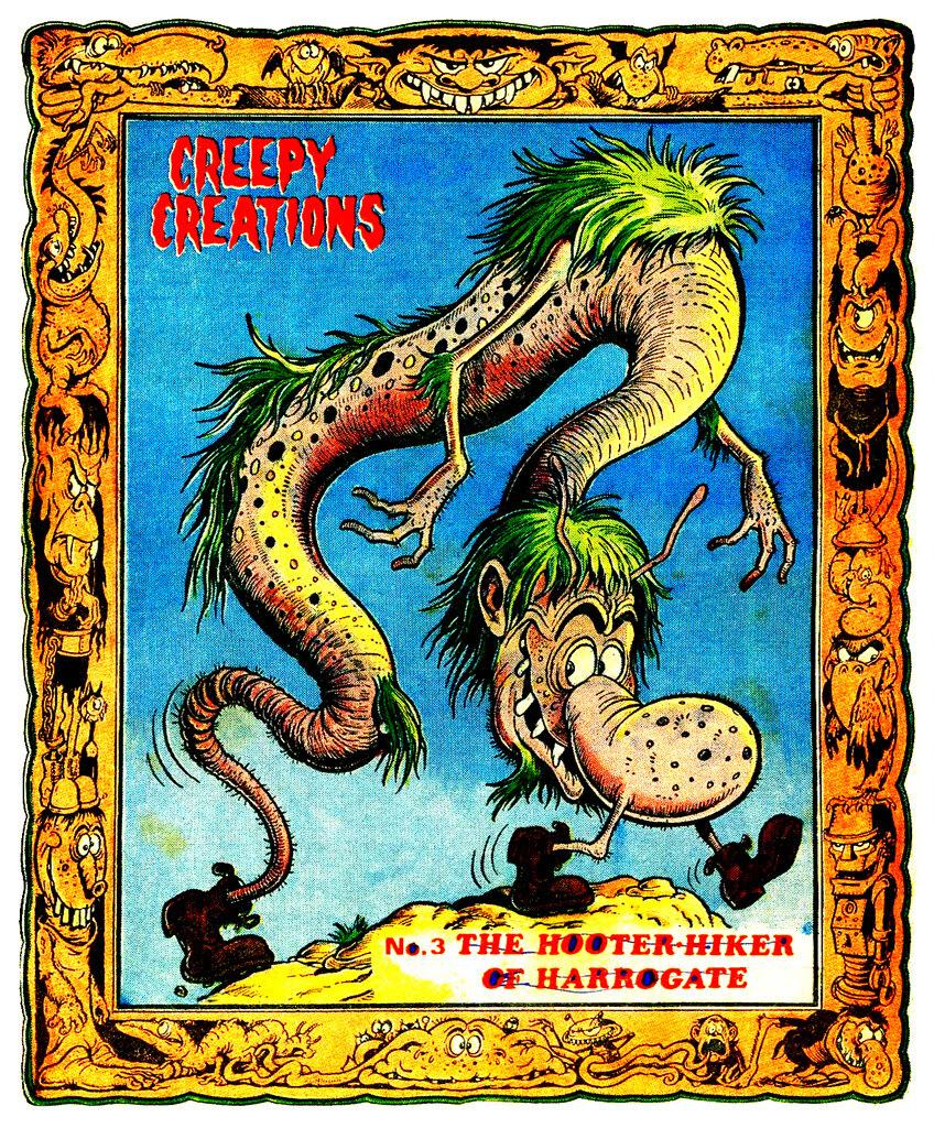 Creepy Creations No.03 - The Hooter Hiker Of Harrogate