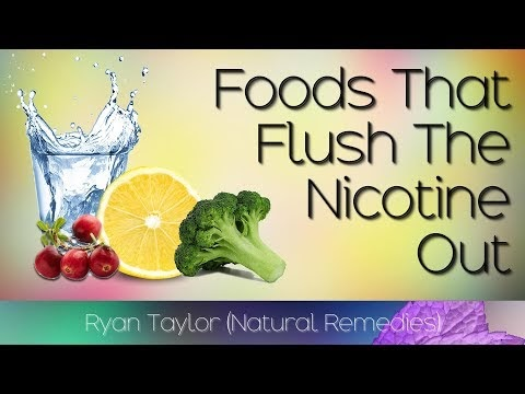 Foods That Flush Nicotine Out Of The Body