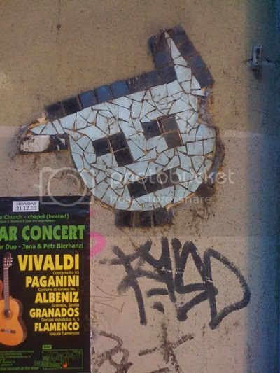 Prag-Mosaik-Katz