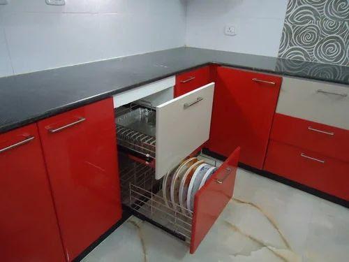 Modular Kitchen Designing L Shaped Kitchen Designing Service