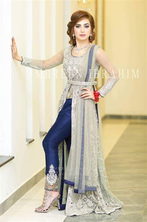 Latest Party & Wedding Wear Pakistani Waist Belt Dresses