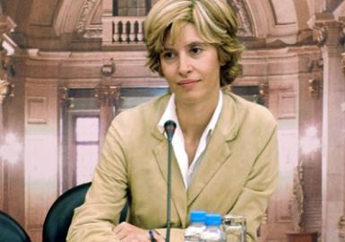 A primeira mulher presidente do Parlamento