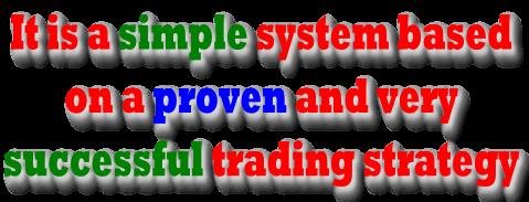 这是一个基于非常成功且经过验证的策略的简单策略