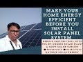 Make Your Home Energy Efficient  before You Install Solar Panel