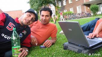 Arabische Studenten Social Media Deutschland (Privat)