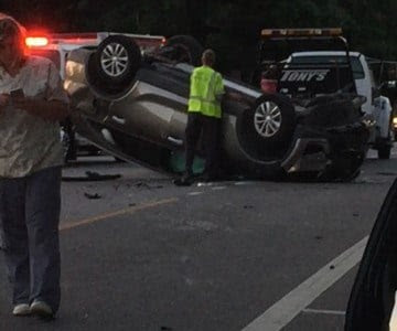 A Small Miracle Video Shows Moments After Suv Flips In Fairho
