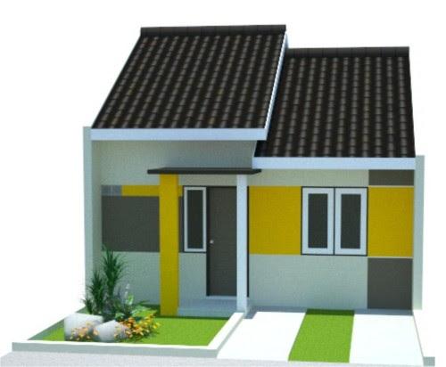 Rumah Minimalis Type 36 1 Lantai dan Biayanya