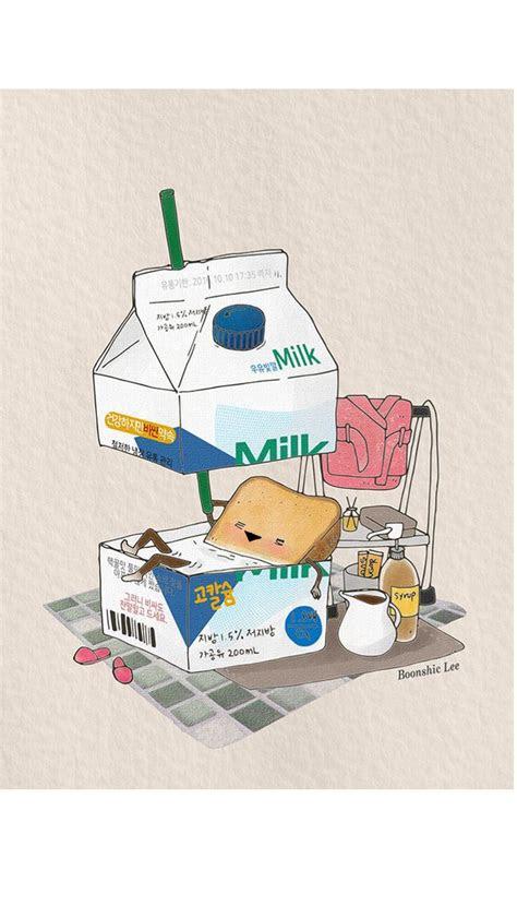 pin  shirley shum  food illustration