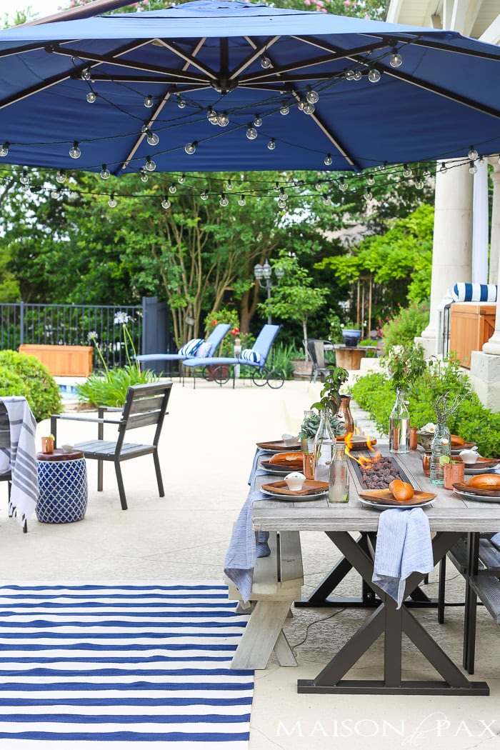 Outdoor Dining Summer Space