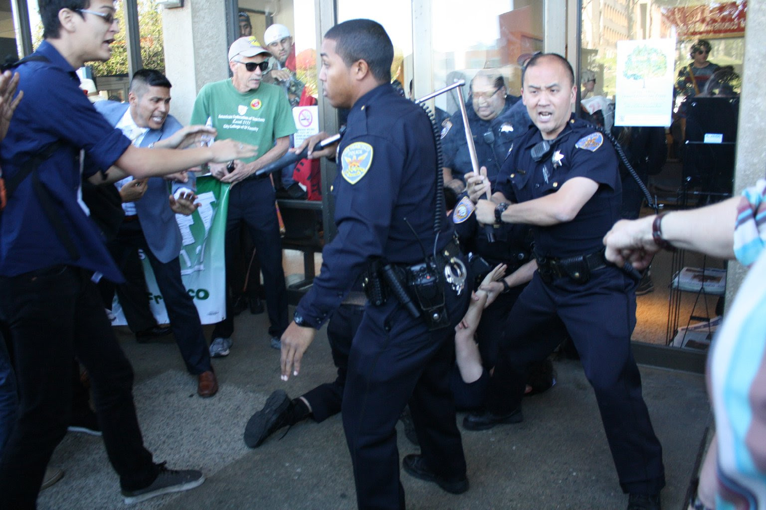 City College of San Francisco to Review Protest Violence ...