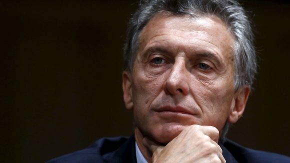 Mauricio Macri. Foto tomada de www.elespanol.com