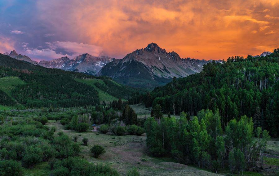 Όρος Sneffels, Colorado, ΗΠΑ