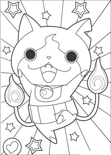 Kids N Funcom 30 Coloring Pages Of Youkai