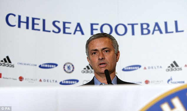 Success: Mourinho replaces Rafa Benitez at Chelsea for his second spell at the club
