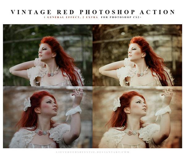 Kumpulan Actions Photoshop imbas Vintage Retro Kumpulan Actions Photoshop imbas Vintage Retro
