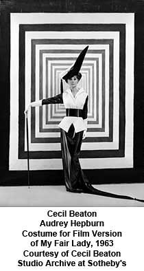 Cecil Beaton - Audrey Hepburn Costume for Film Version of My Fair Lady, 1963 by artimageslibrary