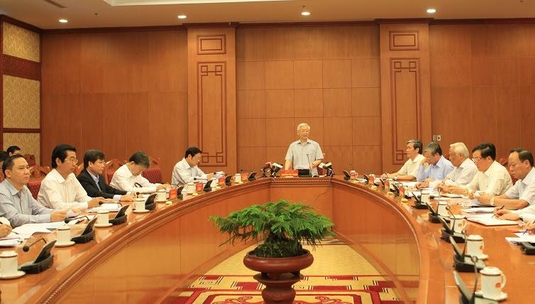 Trịnh Xuân Thanh, vụ Trịnh Xuân Thanh, Tổng bí thư, Nguyễn Phú Trọng, vụ PVC, chống tham nhũng
