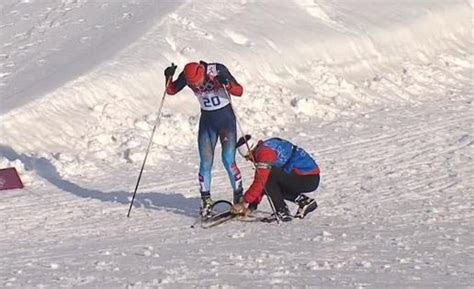 Pretty awesome events transpired during the Men's Sprint