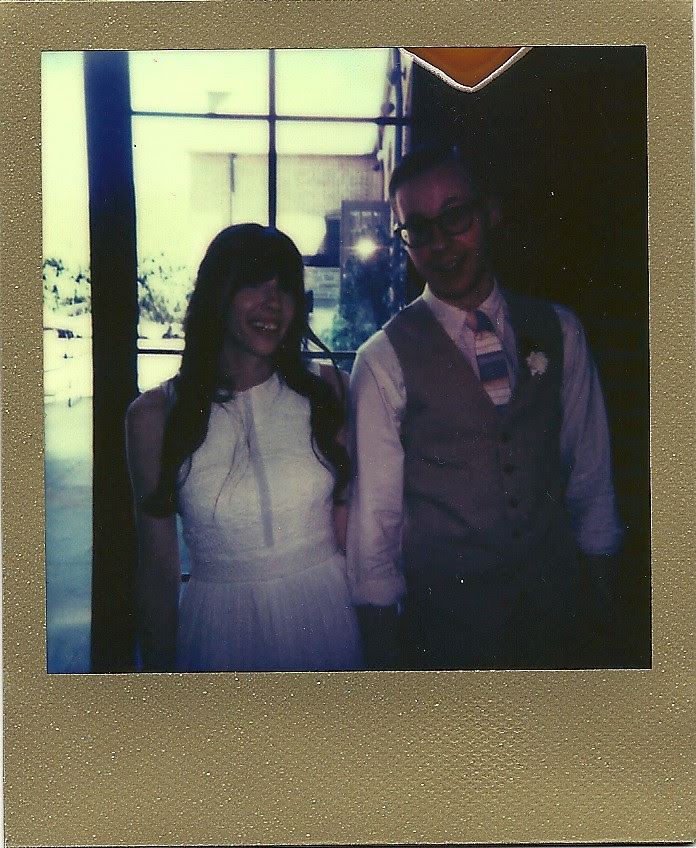 Polaroid Gold - Jay and Jellie's Wedding!