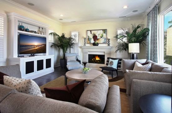 Living Room Ideas With Tv And Fireplace