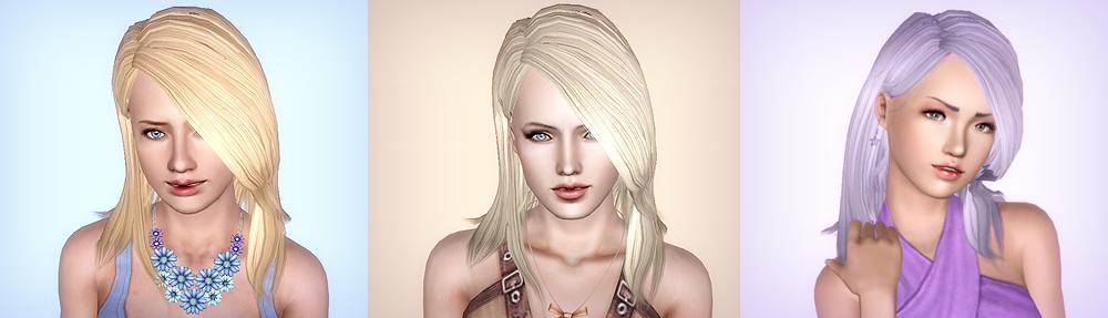 Stargazer ~ Ashley Williams' Hair Conversion