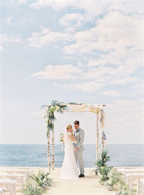 Unplugged Nautical Lake Michigan Wedding in 2019   Wedding