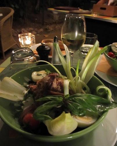 salad nicoise in nice