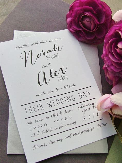 Unique Wedding Invitation Cards Designs 2017   Wedding
