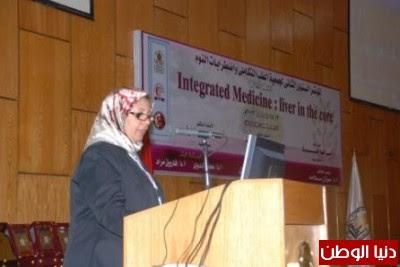 """بالصور .. رئيس جامعة أسيوط والمحافظ فى افتتاح أعمال مؤتمر """" الطب التكاملي.. مريض الكبد """""""