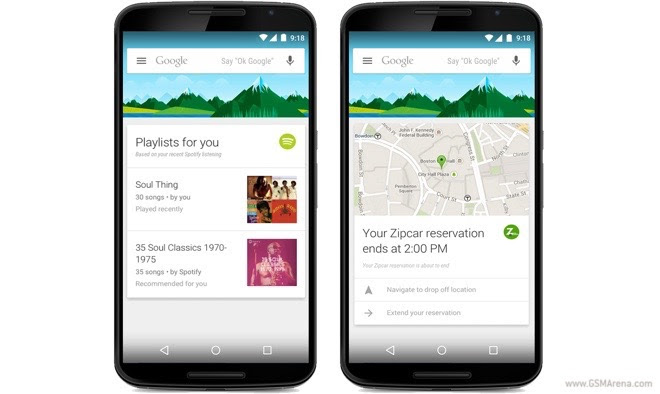 Google Now integration arrives for 70 more Android apps