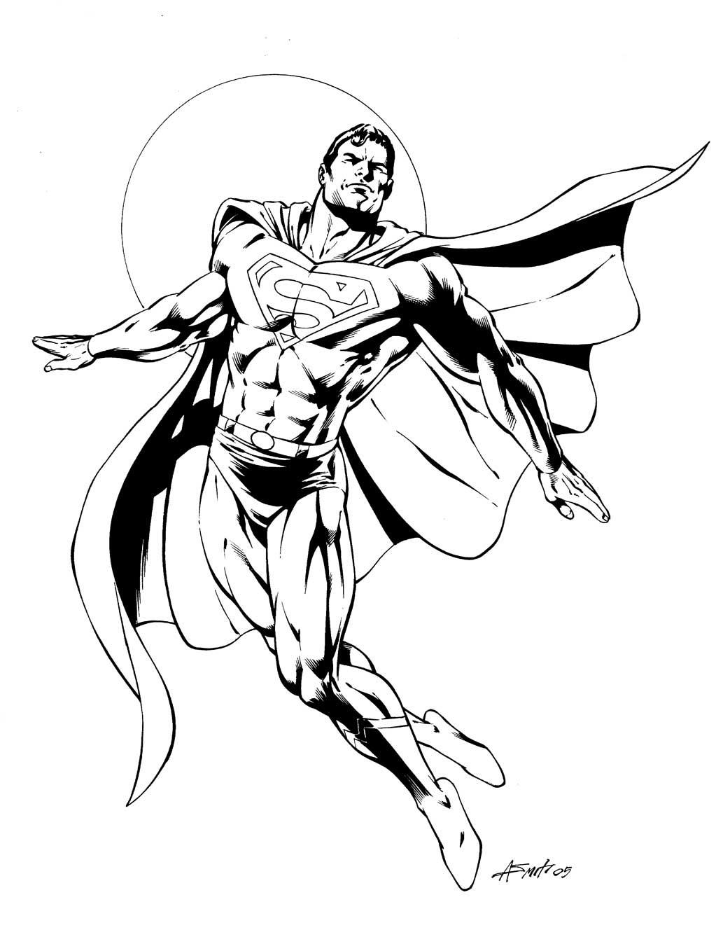 71 Dessins De Coloriage Superman à Imprimer Sur Laguerchecom Page 7