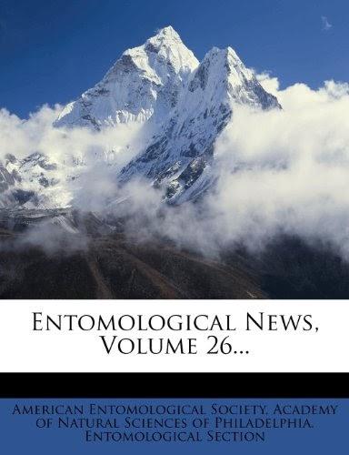 PDF⋙ Entomological News, Volume 26... by American ...