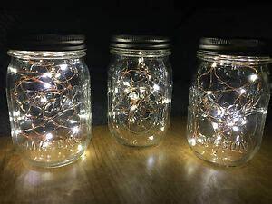 authentic mason jar fairy lights vintage rustic wedding
