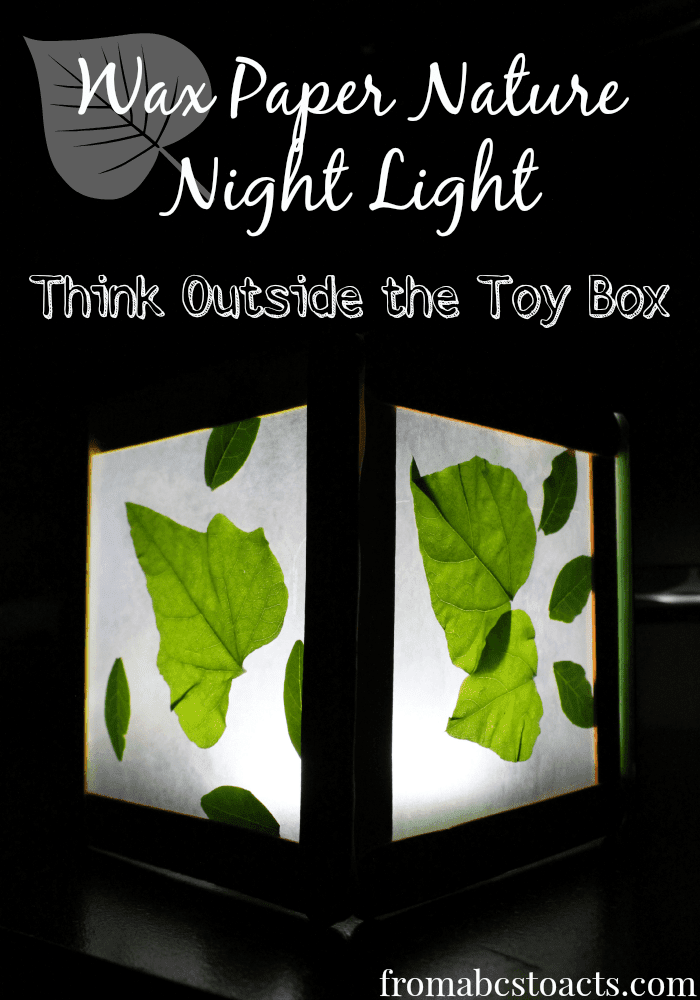 Wax Paper Nature Night Light - TOTTB