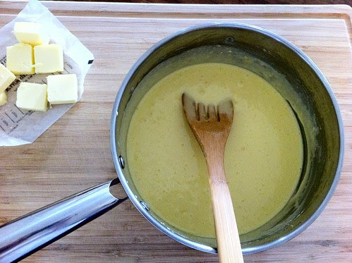 Ready to Add Butter to Curd