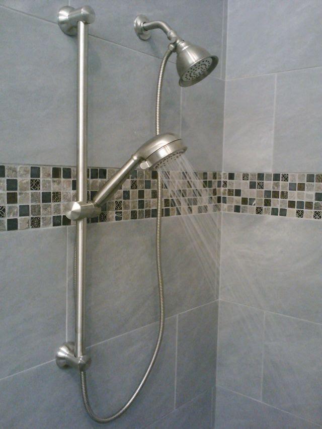 How To Setup A Hand Shower With A Bar Install Showerhead