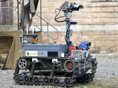Robot Perang Buatan Indonesia yang Dikagumi Inggris