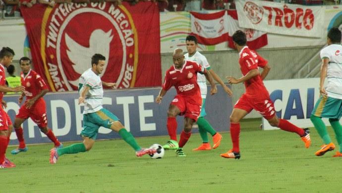 América-RN x Coruripe - Copa do Nordeste - Arena das Dunas - Cascata (Foto: Canindé Pereira/América FC)