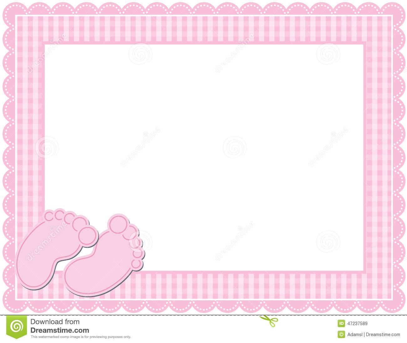 clipart baby girl borders 2