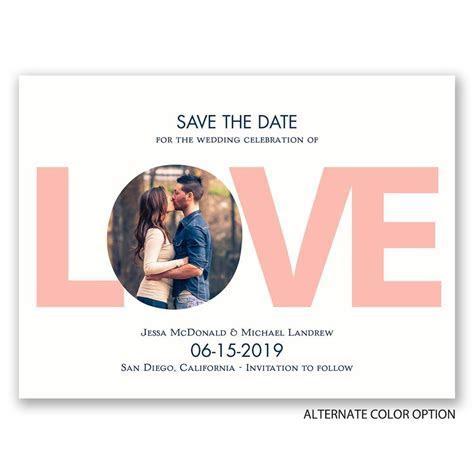LOVE Save the Date Card   Ann's Bridal Bargains