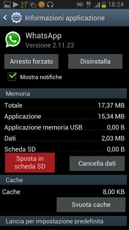 Come Spostare Whatsapp Su Sd Esterna Senza Root Tecnomanicom