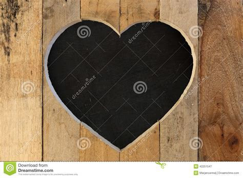 Love Valentines Heart Wooden Frame Black Chalk Board