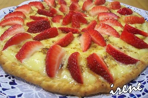 la cocina casera de irene tarta de fresas