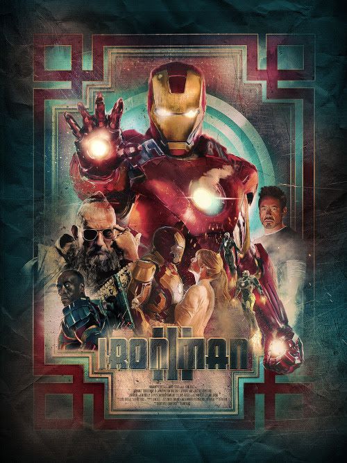 Powerful 'Iron Man 3' Poster Design by Richard Davies