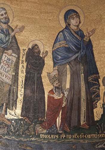 St Francis in the Lateran apse