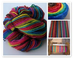 Chain Plied Spiral Dyed BFL