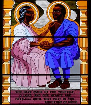 Image result for santo agostinho santa monica negra negro filme