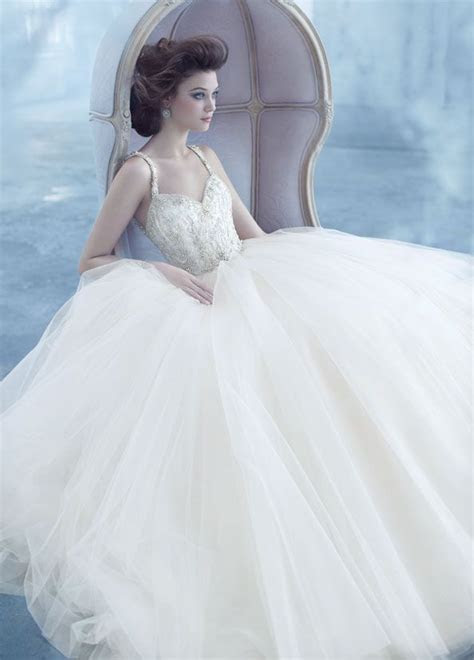 lazaro bridal tulle ball gown sweetheart beaded straps