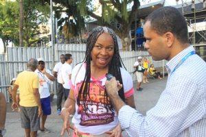 """Olivia Santana: """" A mulher negra continua sendo marginalizada no carnaval de Salvador"""""""