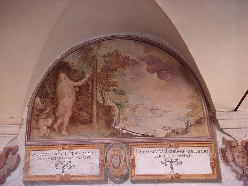 File:Trastevere - sant'Onofrio chiostro interno - affreschi del Cavalier d'Arpino 00668.JPG
